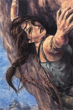 Lara Croft n'est pas aux fourneaux.